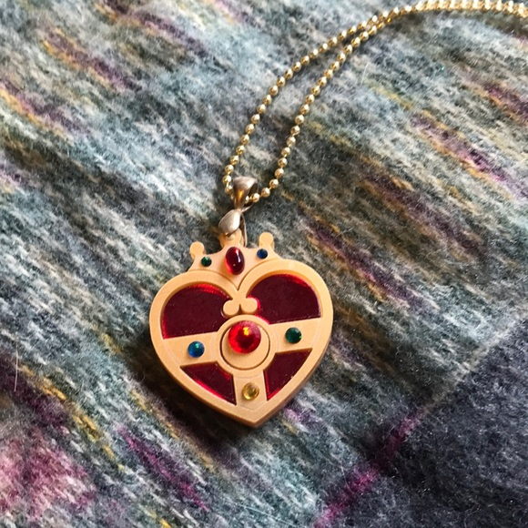 7e6427a282a kuma crafts Jewelry | Sailor Moon Moon Cosmic Power Broach Necklace ...